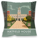 Hatfield House, Hertfordshire Cushion Throw Pillow