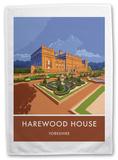 Harewood House, Yorkshire Tea Towel Novelty