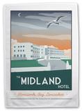 The Midland Hotel, Morecambe Tea Towel Sjove ting