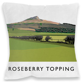 Roseberry Topping, Yorkshire Cushion Throw Pillow