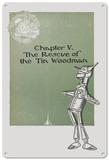 The Wizard of Oz - The Tin Woodman Blechschild