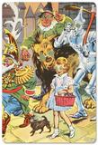 The Wizard of Oz - Emerald City Spectacles Blechschild