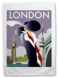 Big Ben, London Tea Towel Novelty