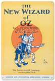 The Wizard of Oz - Illustrated Title Page Blechschild