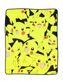Pokemon Pikachu Fleece Blanket Fleece Blanket