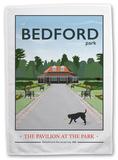 Bedford Park, Bedford Tea Towel Novelty