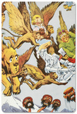 The Wizard of Oz - The Winged Monkeys Blechschild