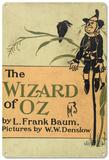 The Wizard of Oz - The Scarecrow Blechschild