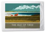 The Isle of Tiree, Scotland Tea Towel Novelty