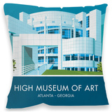 The High Museum of Art, Atlanta Cushion Throw Pillow