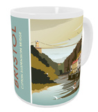 Clifton Suspension Bridge, River Avon, Bristol Mug Krus