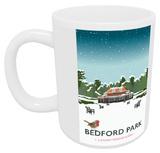 Bedford Park, Bedford, A Snowy Scene Mug Mug