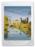 Warwick Castle Tea Towel Novelty