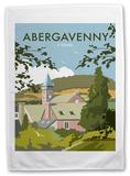 Abergavenny Tea Towel Novelty