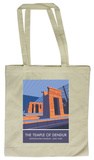 The Temple of Dendur, New York Tote Bag Handleveske