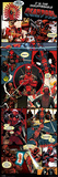 Deadpool- Insufferable Action Panels Poster