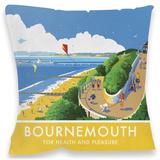 Bournemouth, Dorset Cushion Throw Pillow