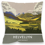 Helvellyn, Lake District Cushion Throw Pillow