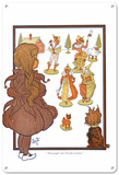 The Wizard of Oz - People Made of China Blechschild