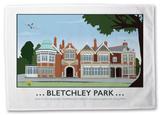 Bletchley Park Tea Towel Novelty