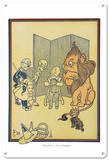 The Wizard of Oz - Humbug Blechschild