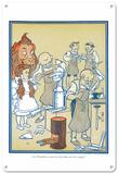 The Wizard of Oz - The Tinsmiths Blechschild