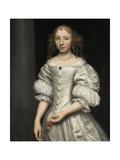 Portrait of a Woman Kunst von Wallerant Vaillant