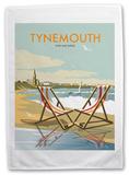 Tynemouth, Tyne and Wear Tea Towel Novelty
