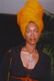 Erykah Badu Posed in Portrait Photo by  Movie Star News