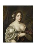 Portrait of Margaretha Godin (D.), Wife of the Artist Prints by Caspar Netscher
