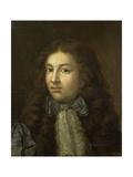 Portrait of Thedoor Netscher, the Painters Oldest Son, Caspar Netscher, 1684 Posters by Caspar Netscher