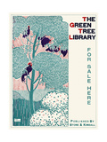 The Green Tree Library, for Sale Here Pósters por Henry McCarter