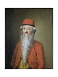 Portrait of Jean Etienne Liotard at Approximately 54 Years of Age Posters af Jean-Etienne Liotard