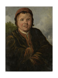 Fisher Boy, at Half Length, Hands Inserted into the Jacket Posters by Frans Hals