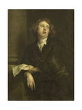 Portrait of Henricus Liberti, Composer and Organist Kunstdrucke von Anthony Van Dyck