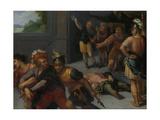 Beheading of Claudius Paulus and the Capture of Julius Civilis Kunstdrucke von Otto van Veen