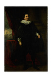 Portrait of a Man from the Van Der Borght Family, Perhaps Francois Van Der Borght Kunstdrucke von Anthony Van Dyck