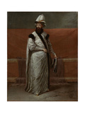 Grand Vizier Nevsehirli Damat Ibrahim Pasa Kunstdrucke von Jean Baptiste Vanmour