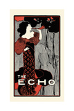 The Echo, Chicago, February 15, 1896 Posters af John Sloan
