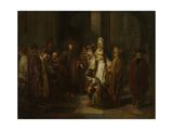 Christ with the Adulterous Woman Pósters por Gerbrand Van Den Eeckhout