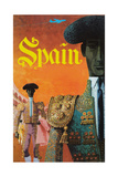 Spain Print by David Klein