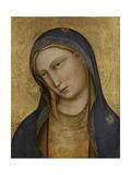 Bust of Saint Mary Plakater af Lorenzo Monaco