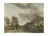 Winter Scene Kunst von Jan Van De Cappelle