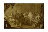 A Musical Party Poster von Adriaen Pietersz van de Venne