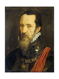 Portrait of Fernando Alvarez De Toledo, Duke of Alba Prints by Willem Key