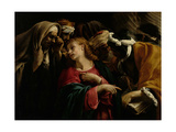 Christ Among the Doctors Lámina por Orazio Borgianni