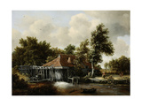A Watermill Pósters por Meindert Hobbema