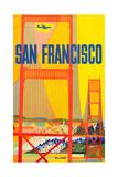 San Francisco Poster by David Klein