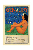 The Century Midsummer Holiday Number, August Posters by Maxfield Parrish