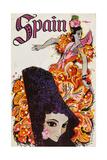 Spain Prints by David Klein